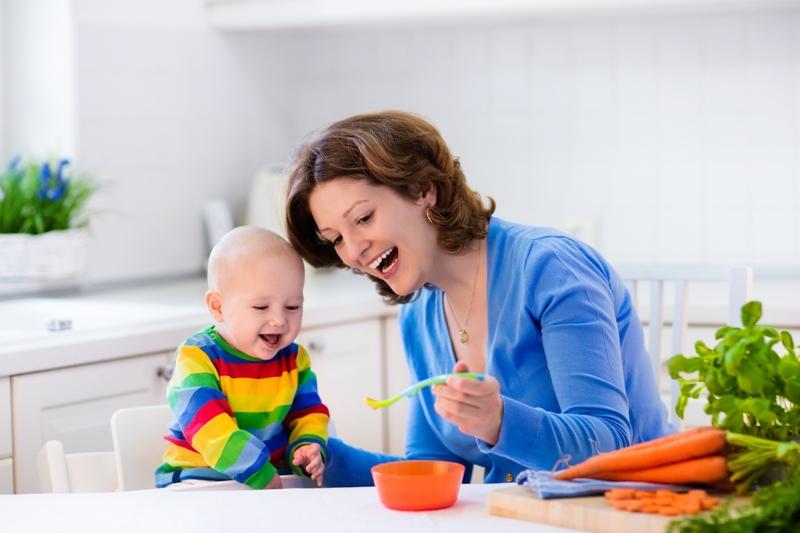 změna stravování u miminka